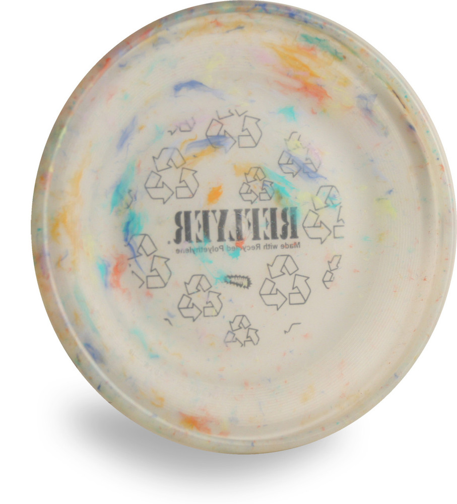 WHAM-O RECYCLED FRISBEE - REFLYER FASTBACK MOLD DISC