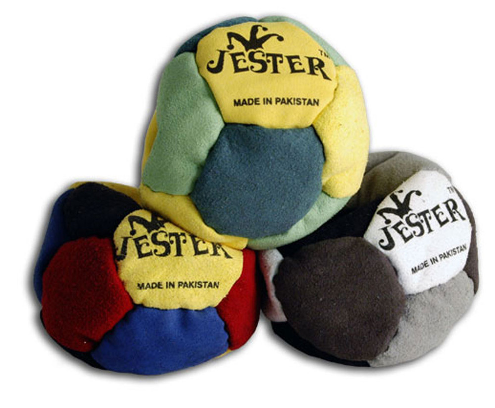 JESTER 12 PANEL FOOTBAG (HACKY SACK)