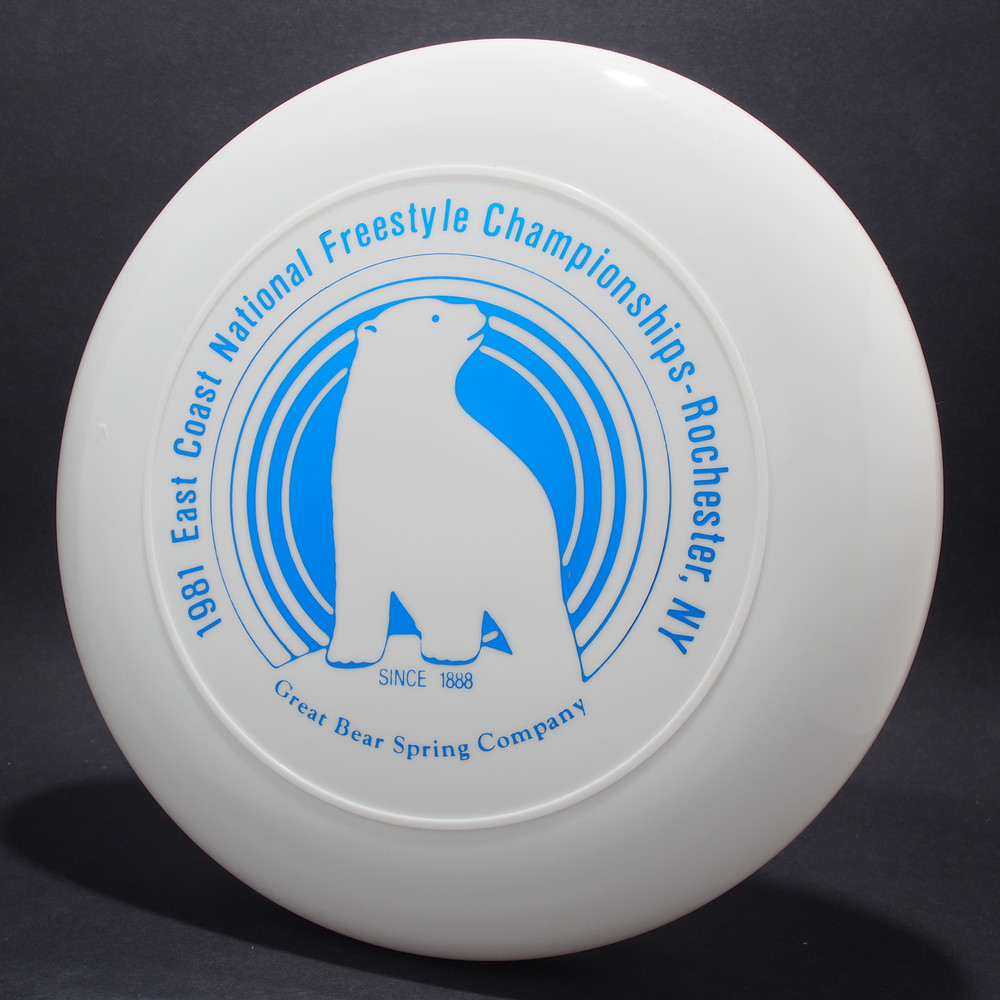 Sky-Styler 81 East Coast National Freestyle Championships White w/ Blue Foil - No Tooling - Top View