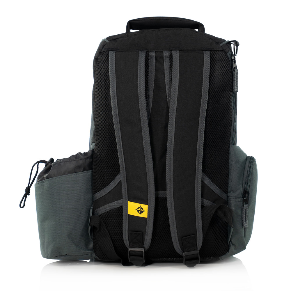 Innova ADVENTURE BAG. Shows a black and gray bag pointing away from the viewer.