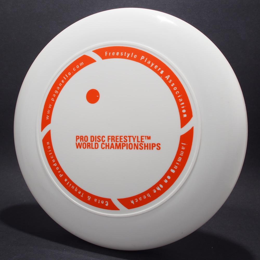 FPA Pro Disc Freestyle World Championships White w/ Orange Matte