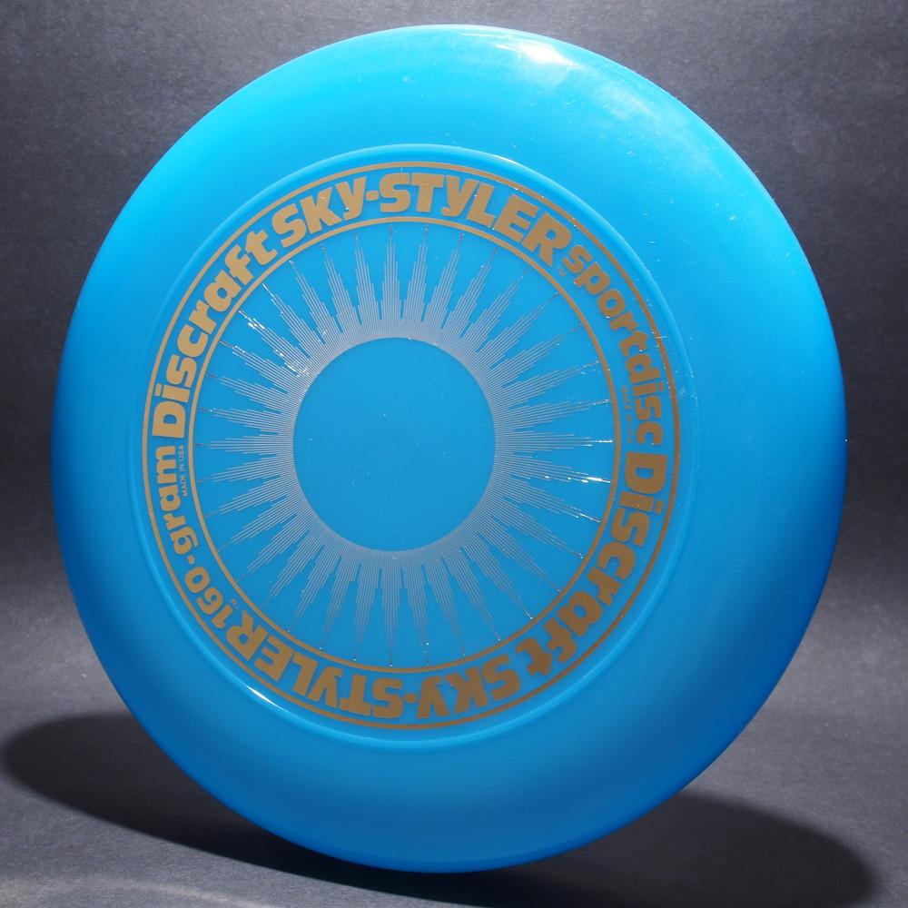 Sky-Styler Sun Blue w/ White Matte Sun and Metallic Gold Ring - NT