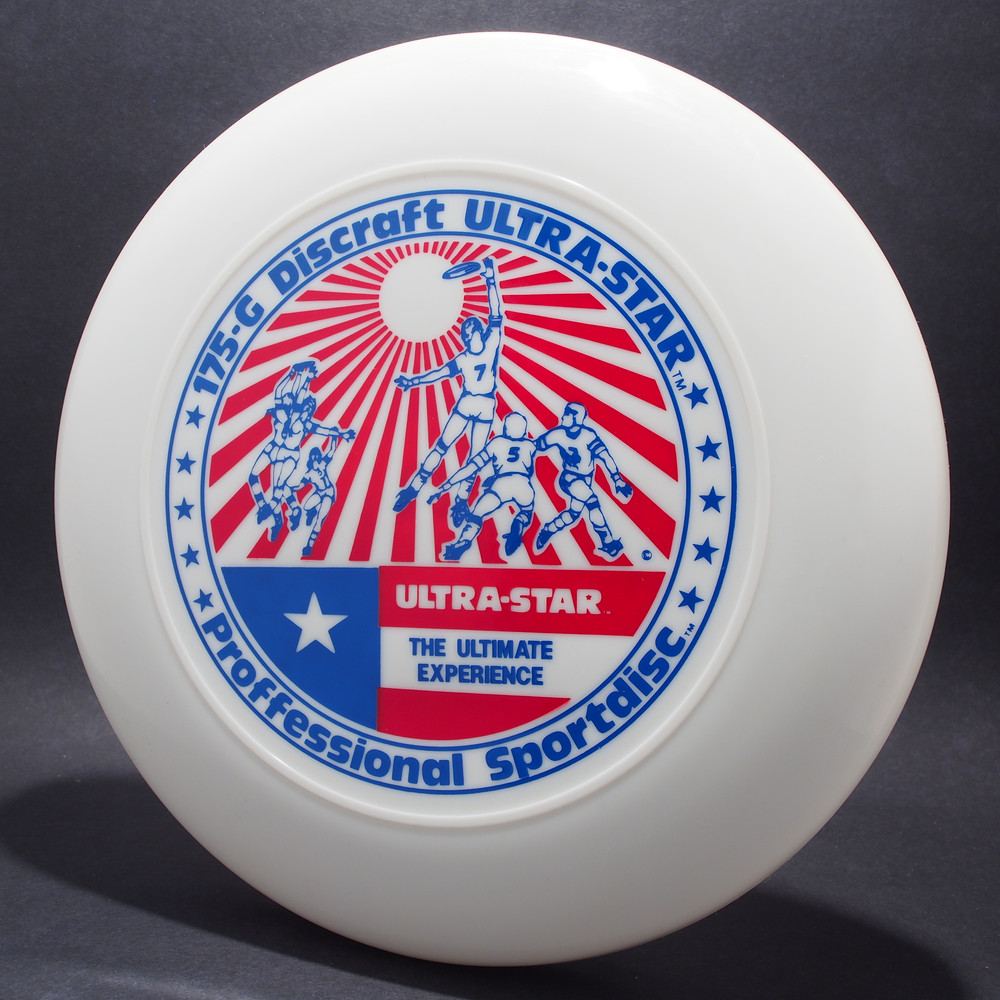 UltraStar Players White w/ Red and Blue Matte NRNT