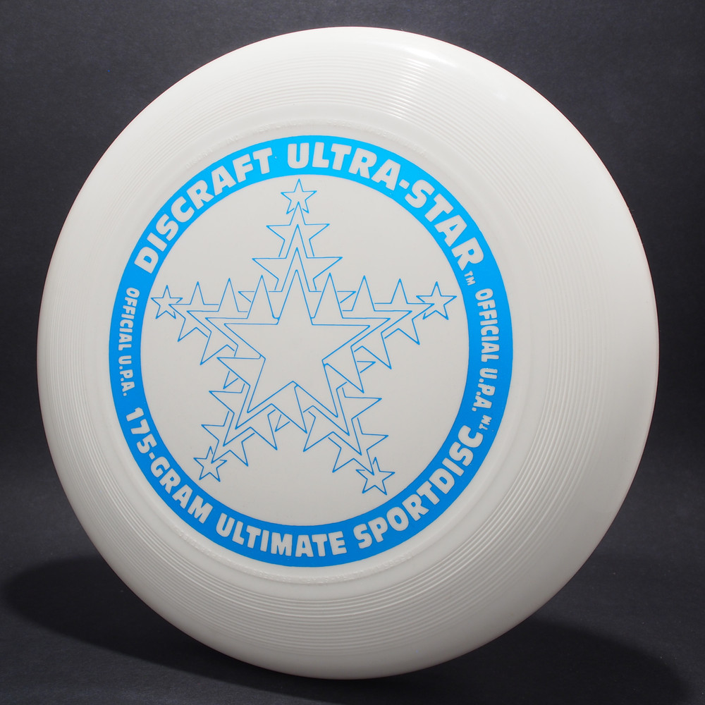 UltraStar Snowflake White  w/ Metallic Blue