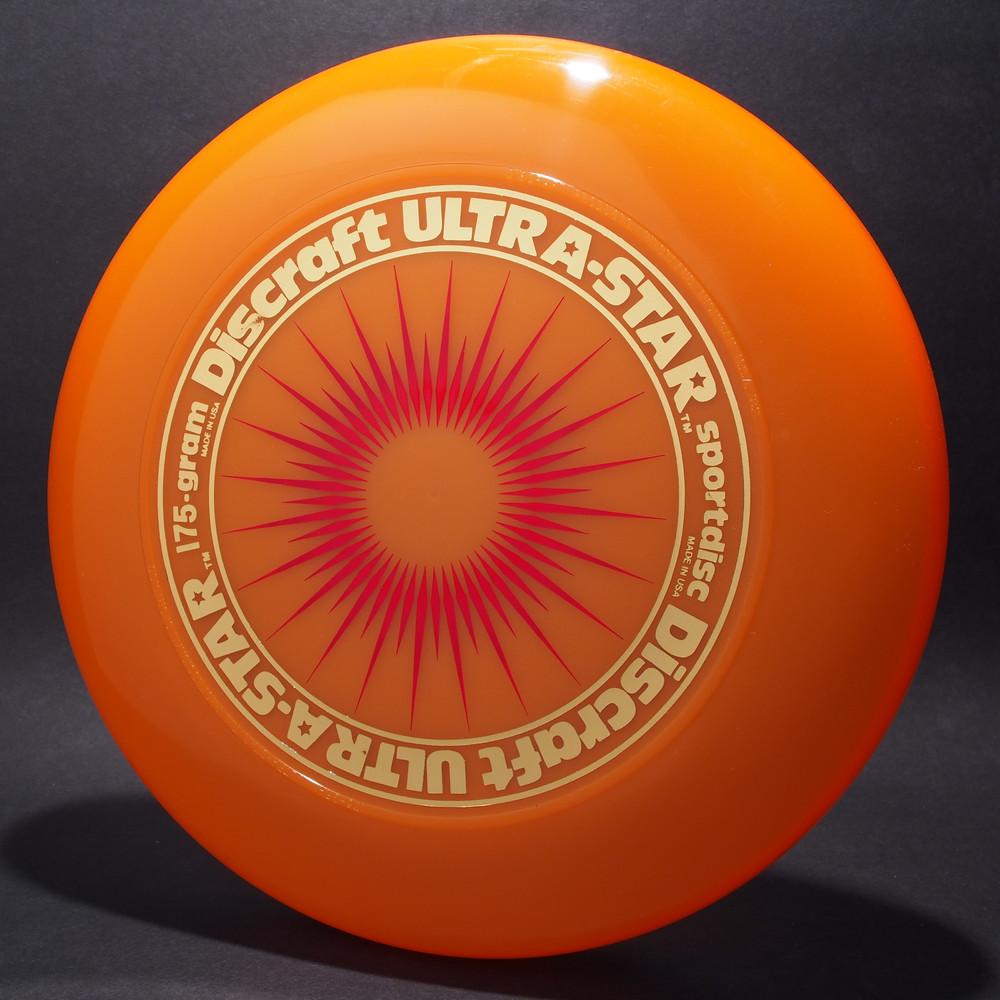 UltraStar StarBurst Peach w/ Metallic Gold and Red Matte - NR