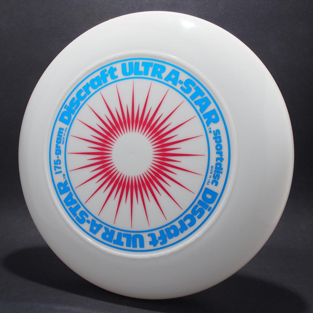 UltraStar StarBurst White w/ Metallic Blue and Metallic Red - NR