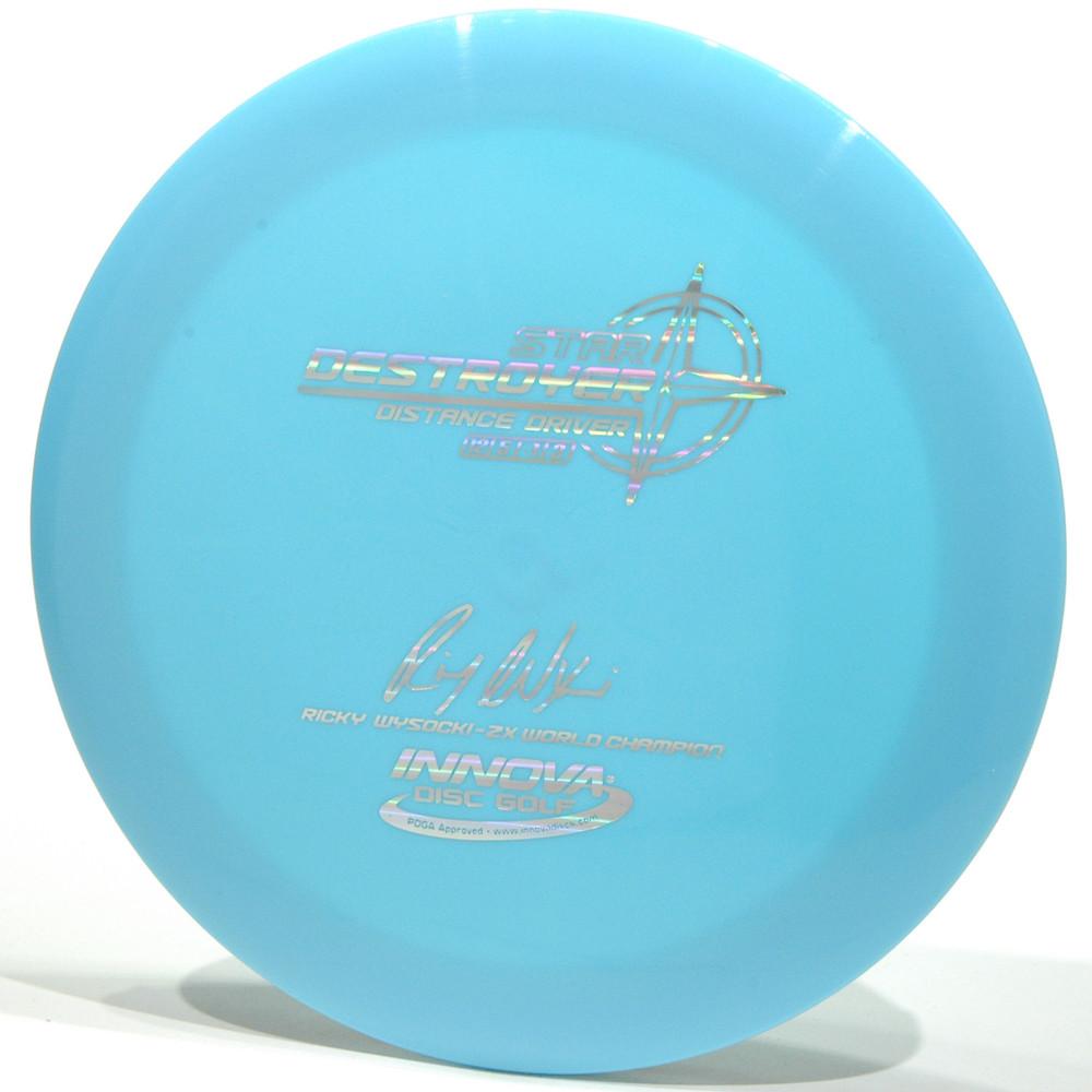 Innova Star Destroyer - Ricky Wysocki Signature 2X Blue Top View