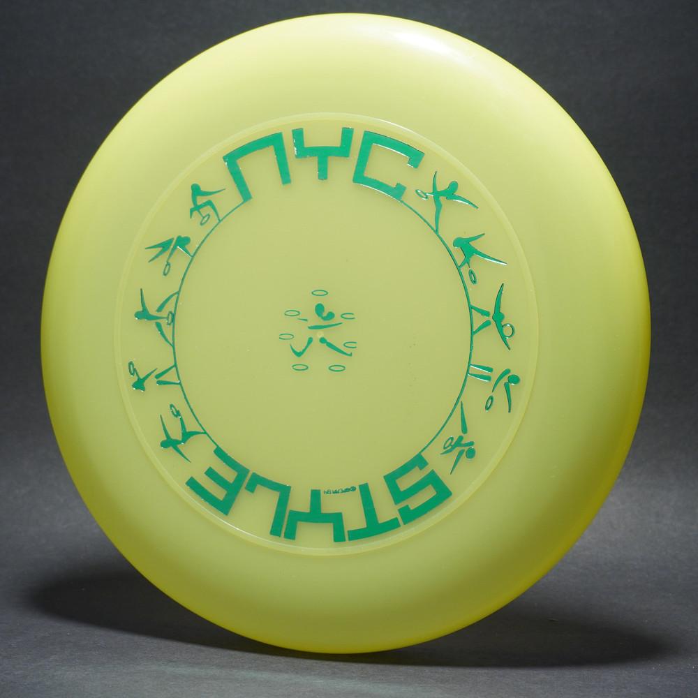 Sky-Styler NYC Style Bright Yellow w/ Metallic Green - T90