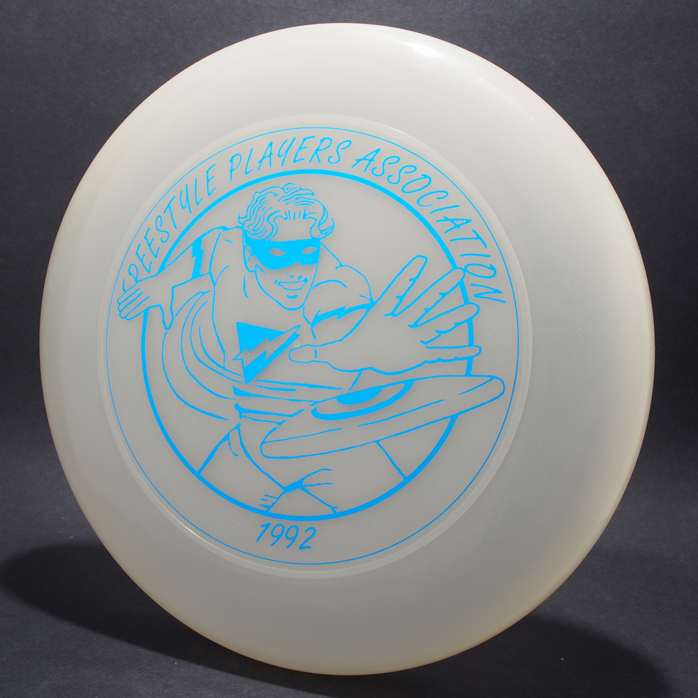 Sky-Styler 1992 FPA Freestyle Players Association Tour Disc UV/Clear w/ Metallic Blue - T80 - Top View