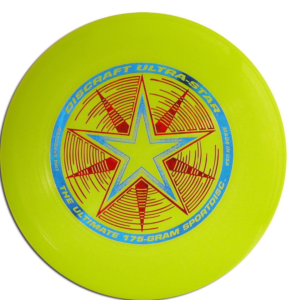 DISCRAFT ULTRA STAR ULTIMATE DISC - Yellow