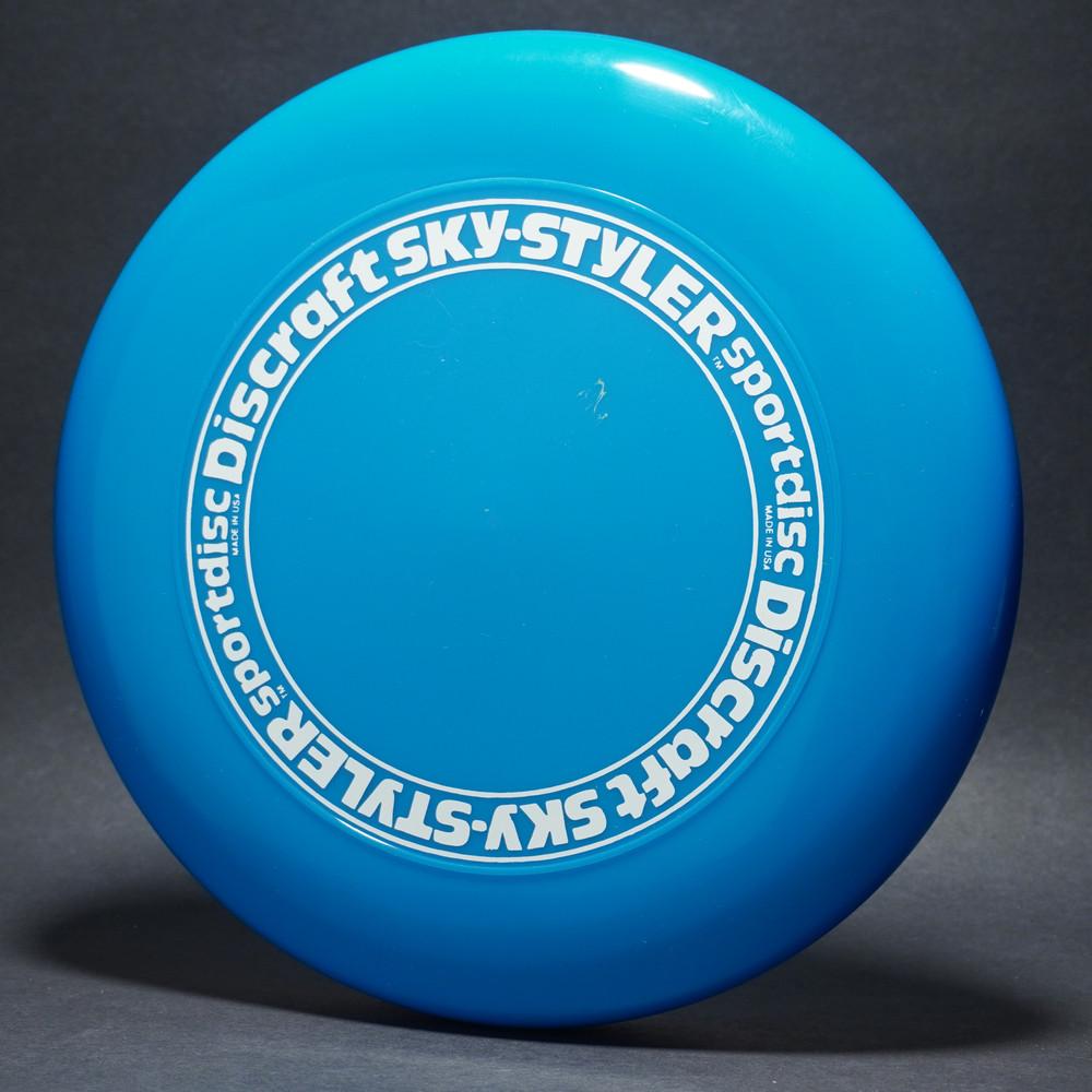 Sky-Styler Stock Open Center Original Stamp Blue w/ White Matte Ring - TR