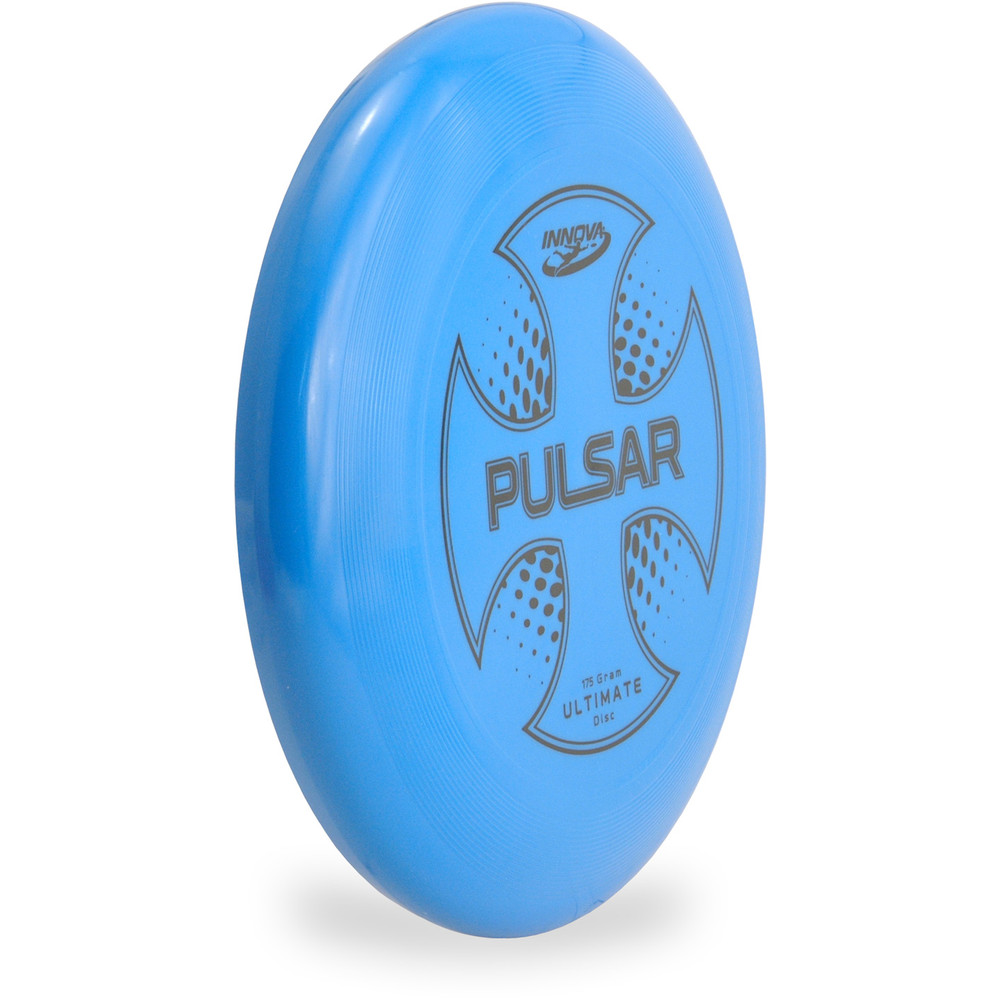 Innova PULSAR ULTIMATE DISC Assorted Colors Blue Angled Front View