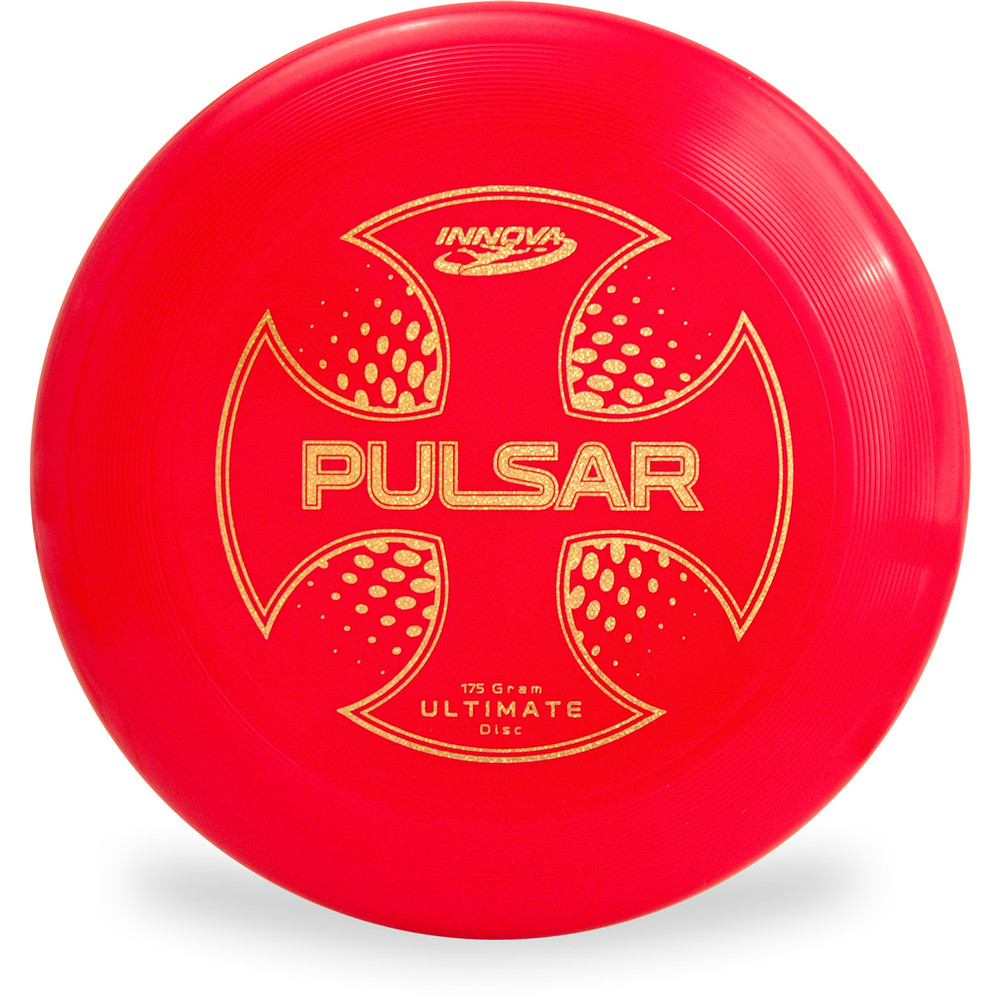 Innova PULSAR ULTIMATE DISC Assorted Colors Red Front View