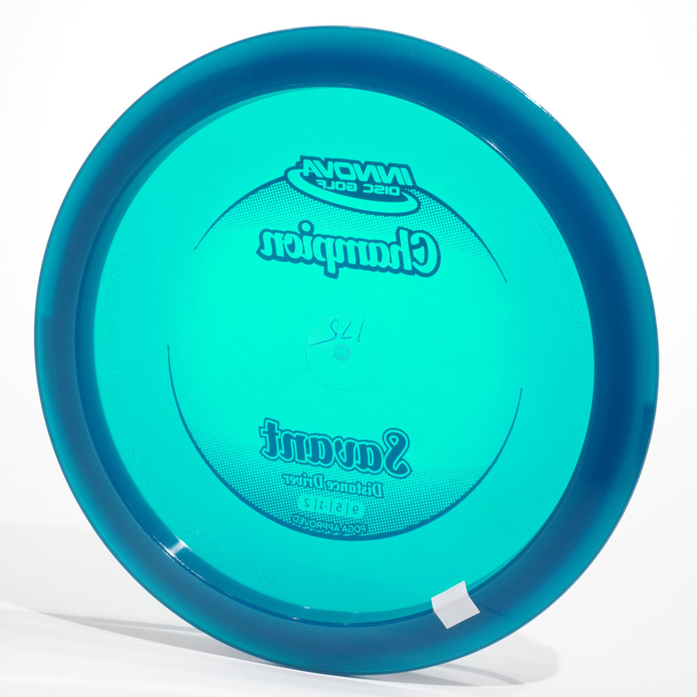 Innova Savant (Champion) Blue Bottom View