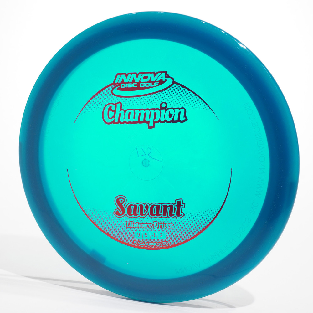 Innova Savant (Champion) Blue Top View