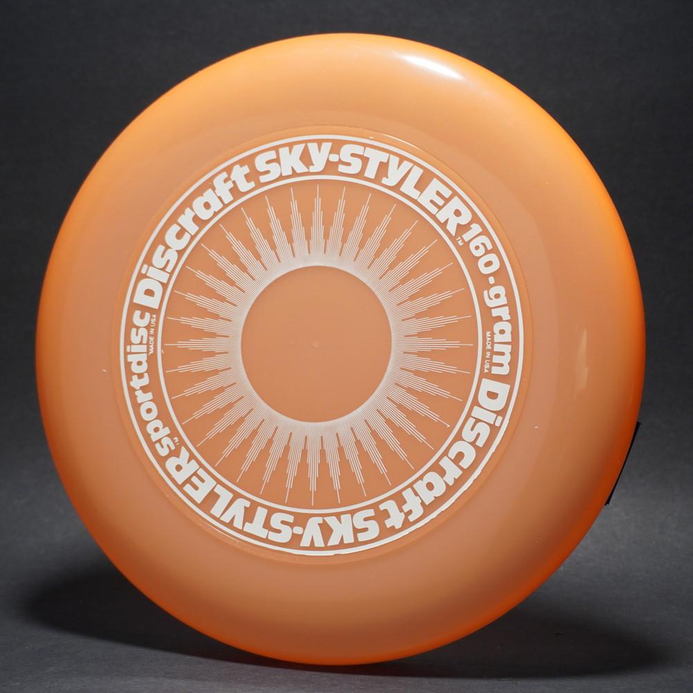 Sky-Styler Sun Light Orange w/ White Matte Sun and White Matte Ring - T80