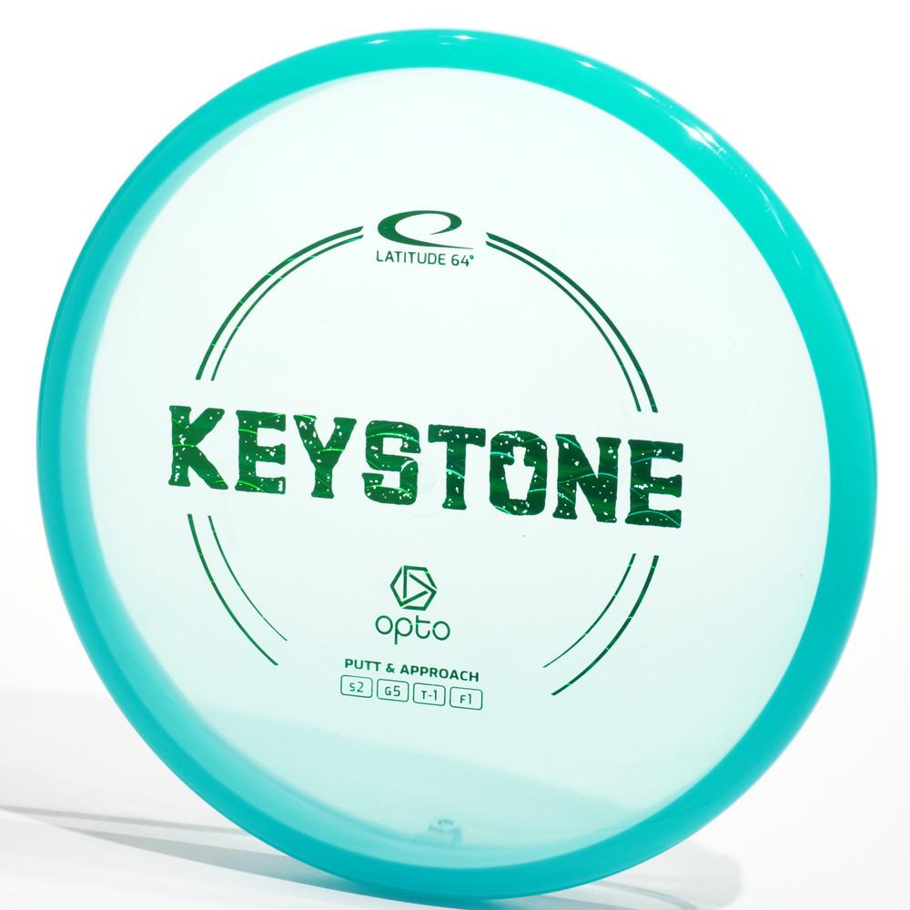LATITUDE 64 OPTO Keystone Blue Top View