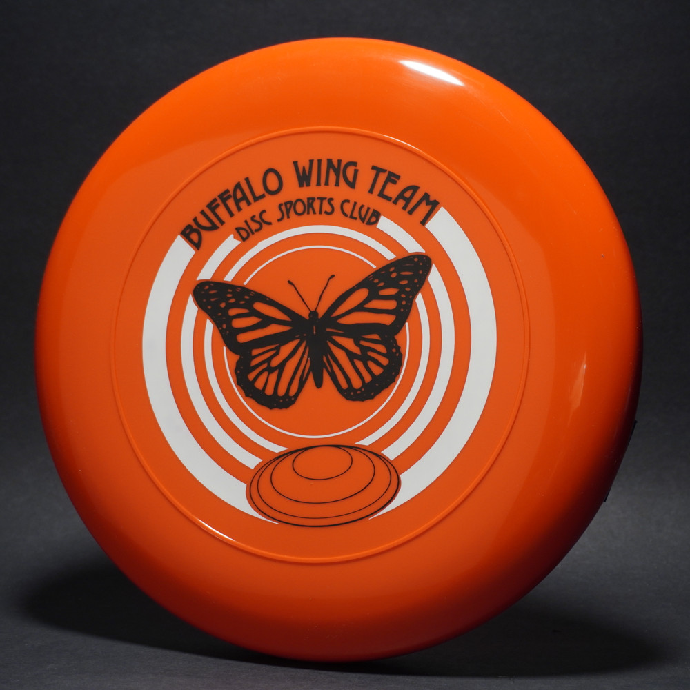 Sky-Styler Buffalo Wing Team Disc Sports Club Orange w/ White and Black Matte - TR