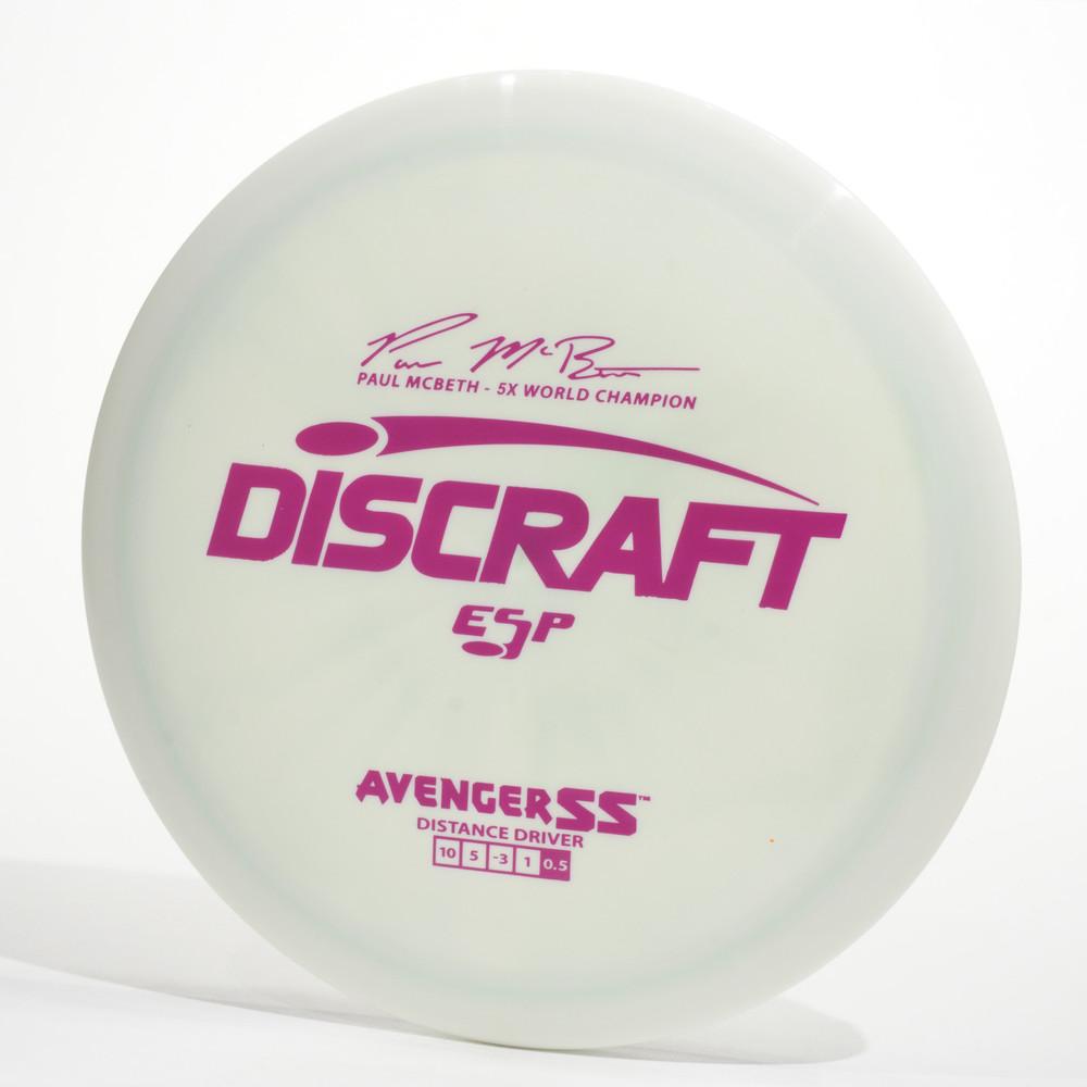 Discraft Avenger SS (ESP) White Top View