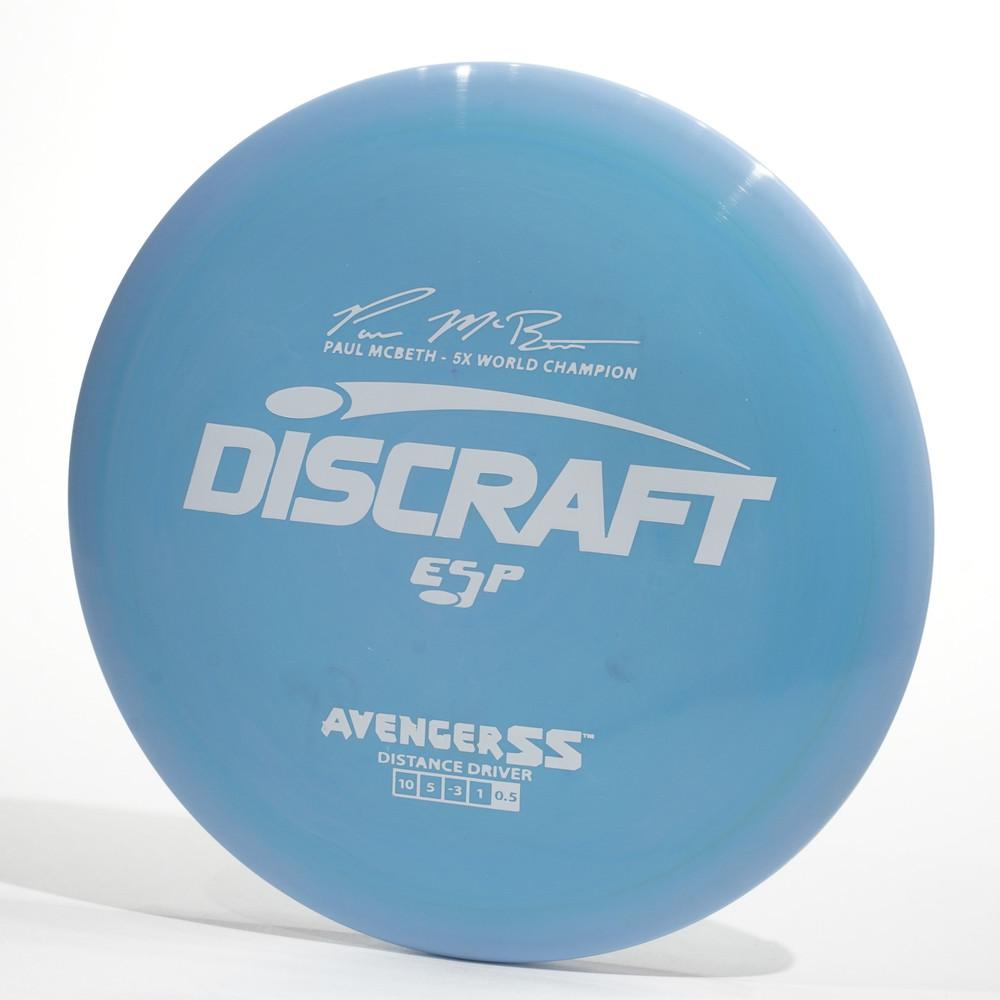 Discraft Avenger SS (ESP) Blue Top View
