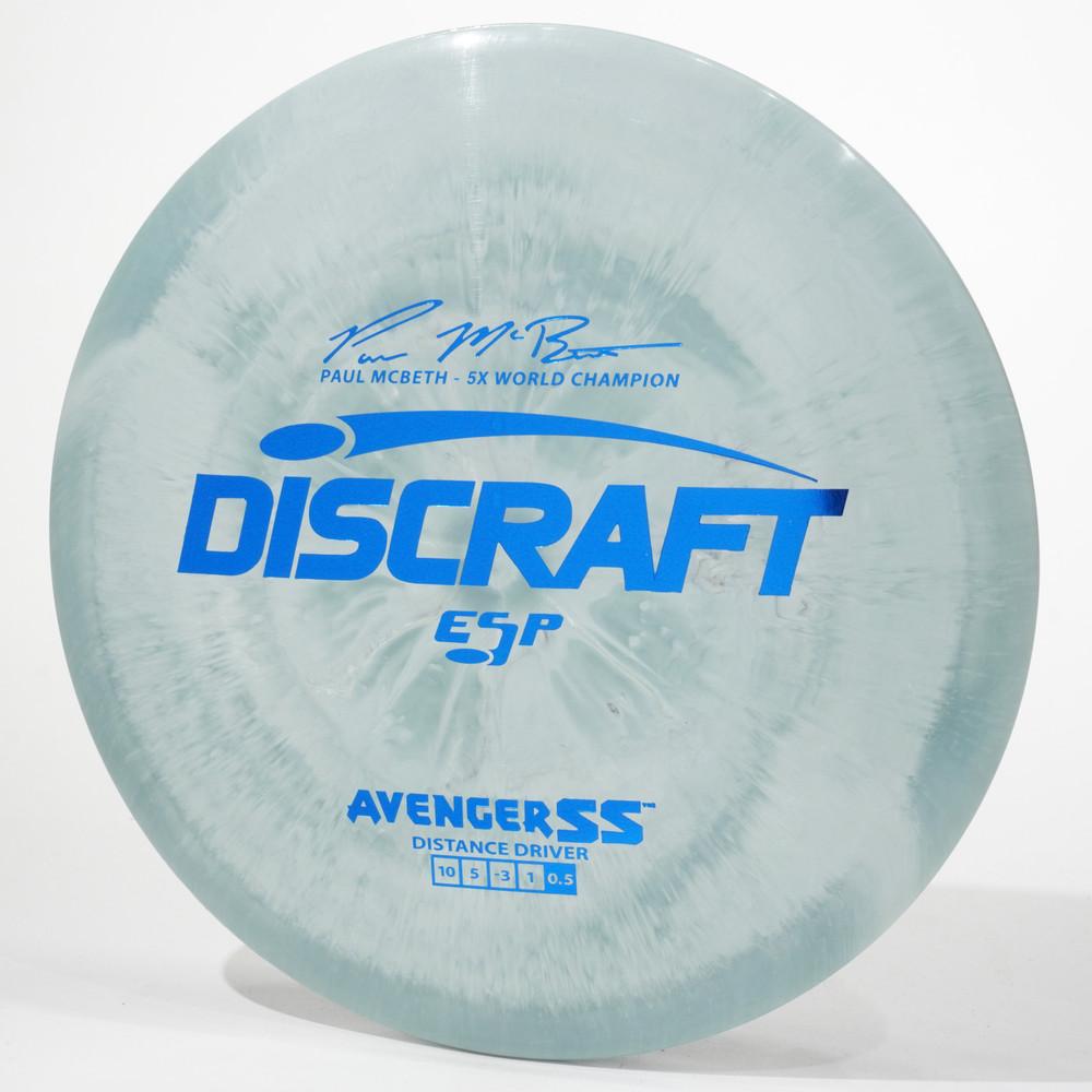 Discraft Avenger SS (ESP) Gray Top View