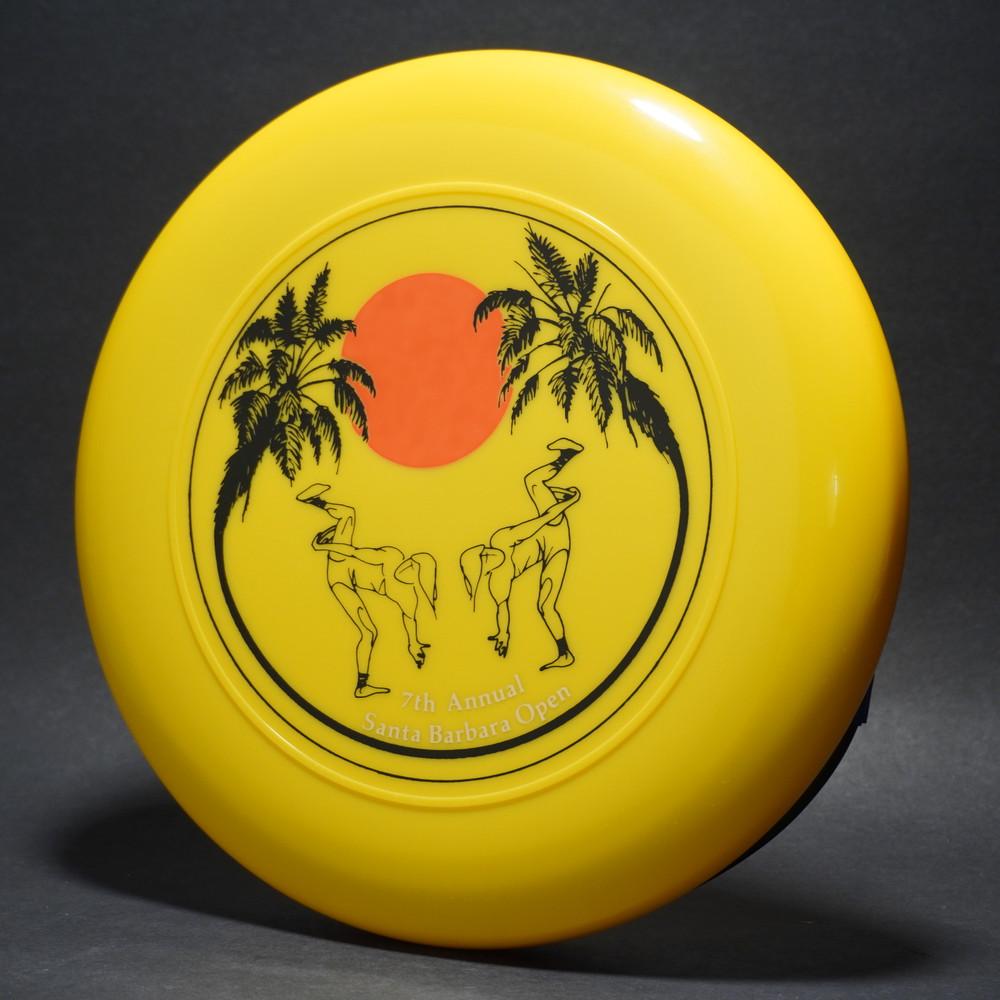 Sky-Styler 7th Annual Santa Barbara Open Yellow w/ Metallic Gold, Black & Orange Matte - T80