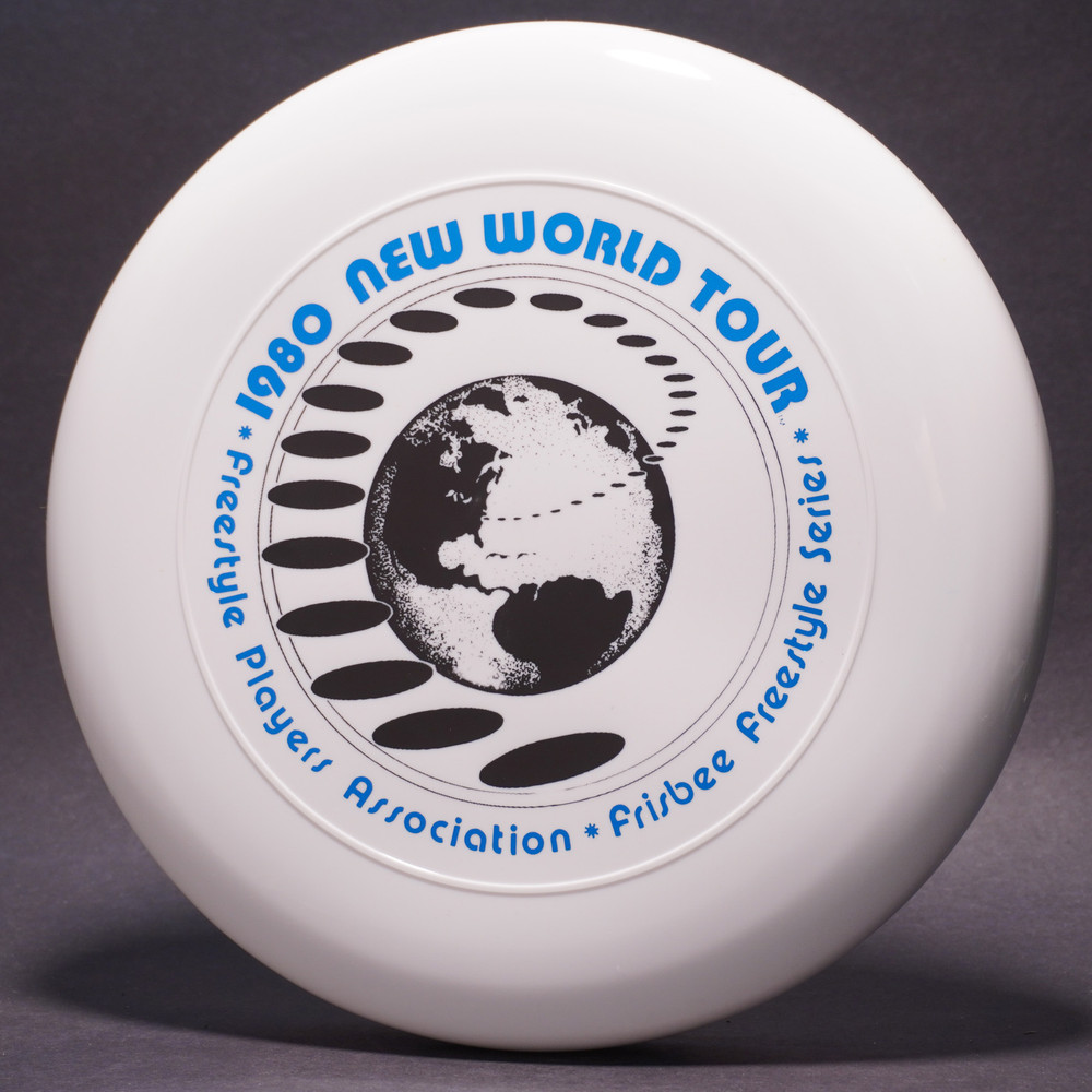 Sky-Styler 1980 FPA New World Tour Clear w/ Metallic Blue and Black Matte -TR - Top View