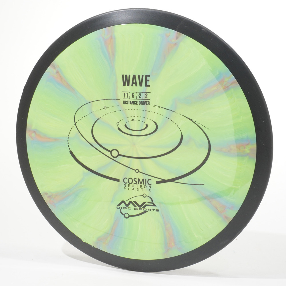 MVP Cosmic Neutron WAVE Green Swirl Top View