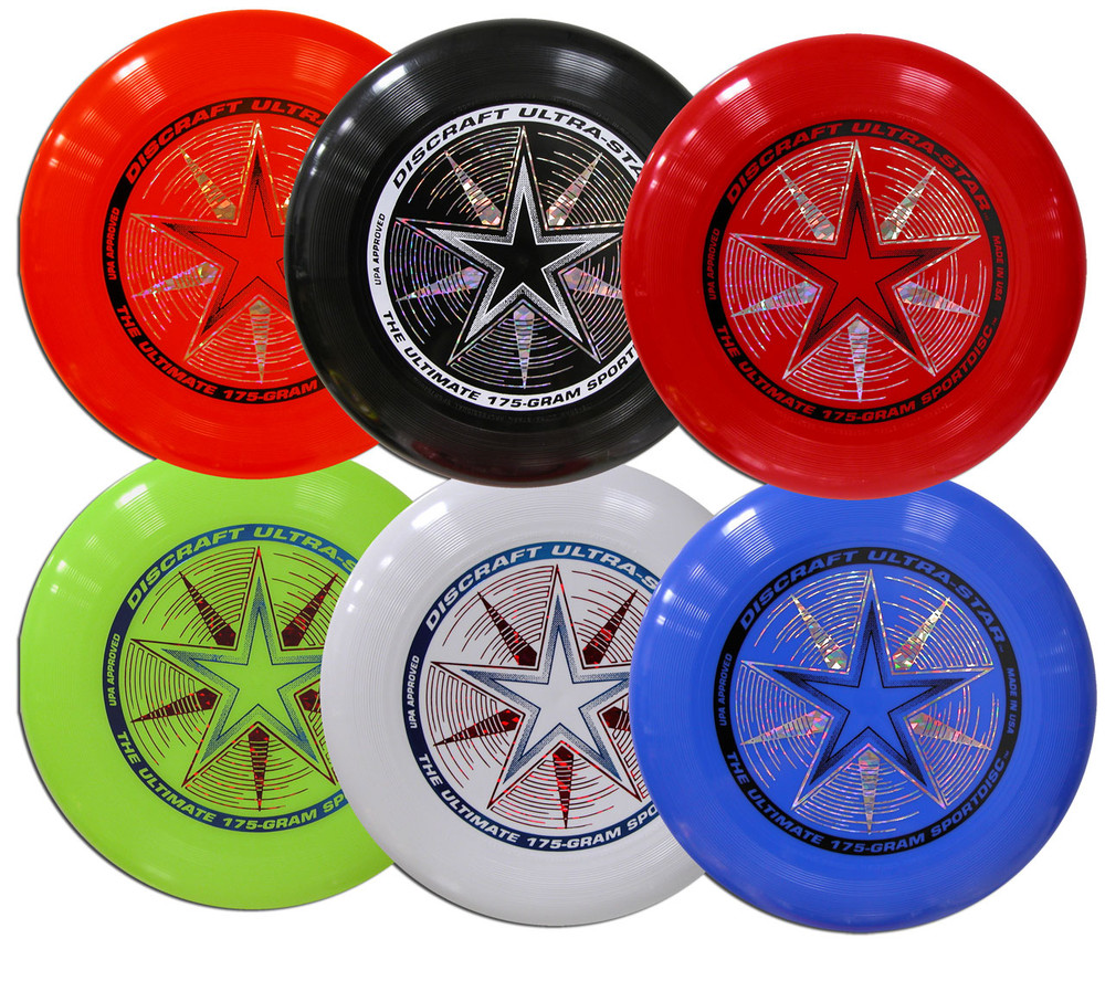 Discraft UltraStar – Six Pack Assorted Colors