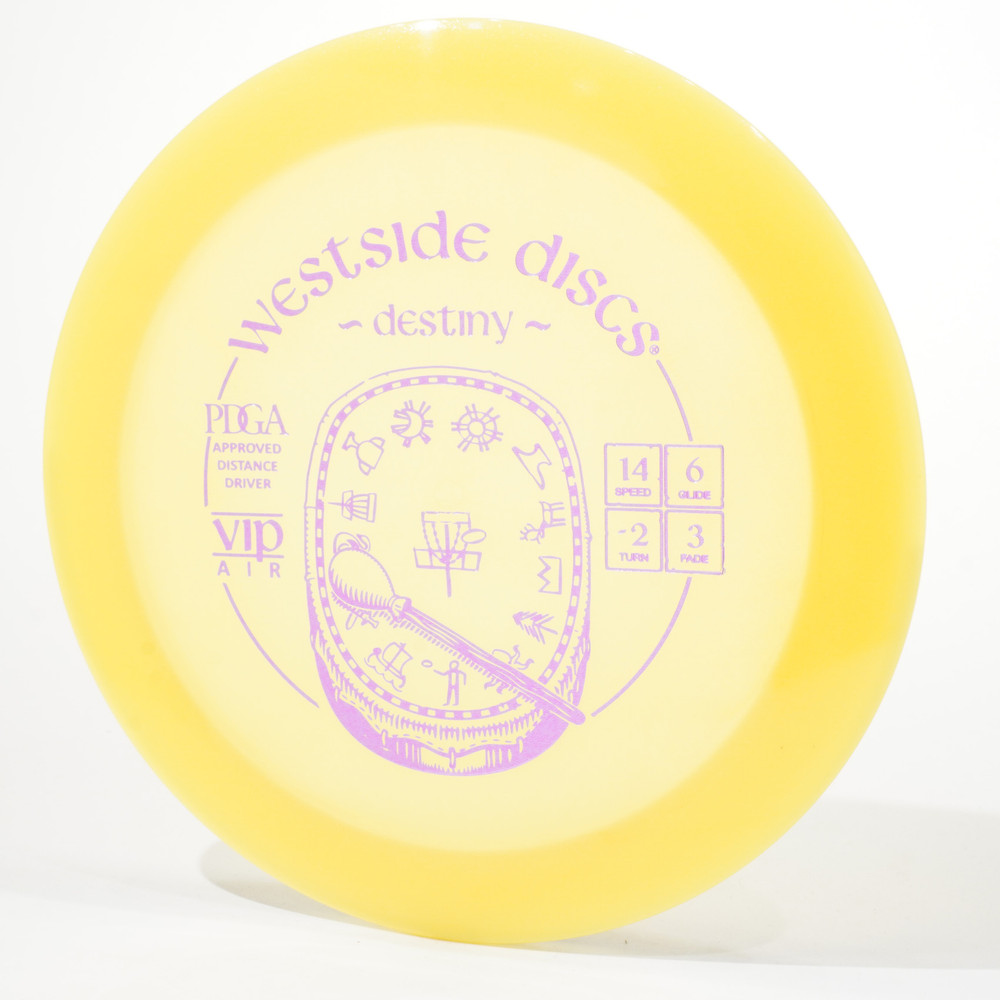 Westside VIP AIR Destiny Yellow Top View