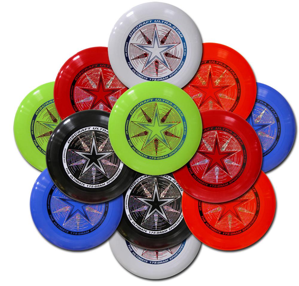 Discraft UltraStar Twelve Pack - Assorted Colors