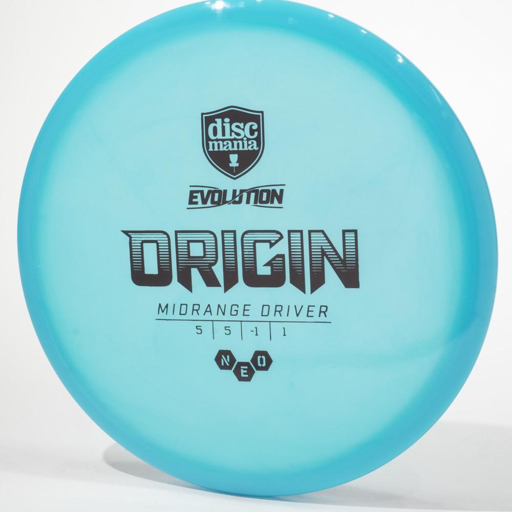 Discmania Evolution Origin (NEO) Blue Top View