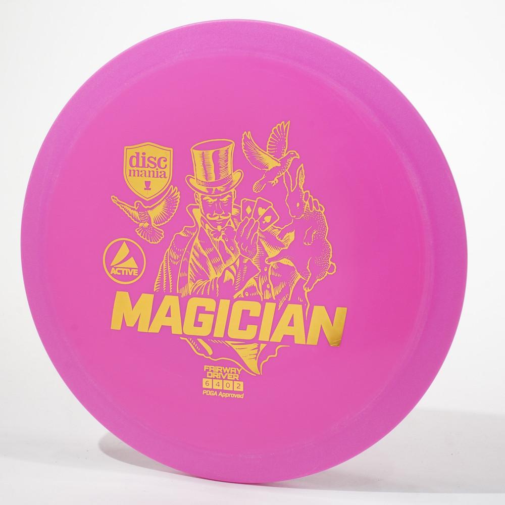 Discmania Active MAGICIAN Pink Top View