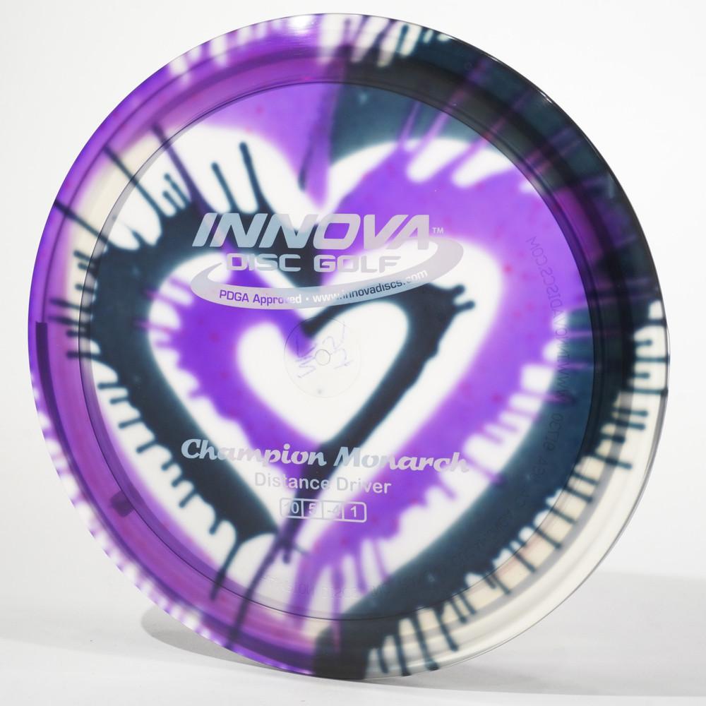 Innova Monarch (I-Dyed Champion) B Top View