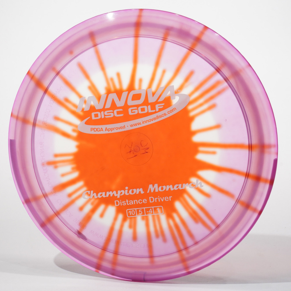 Innova Monarch (I-Dyed Champion) D Top View