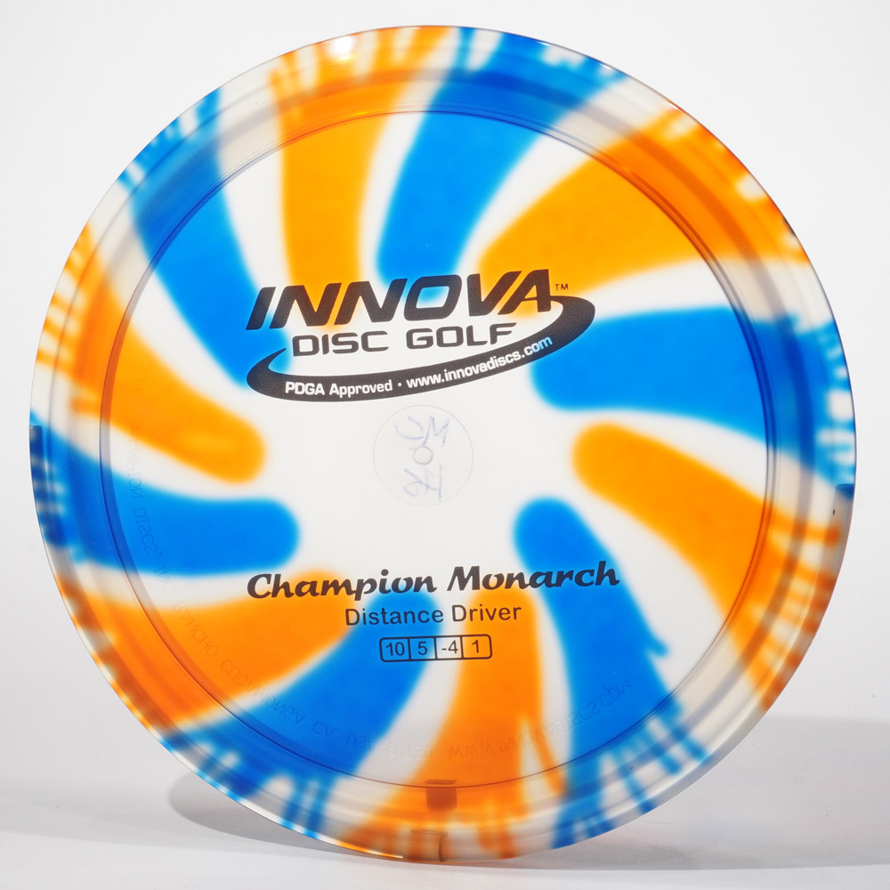 Innova Monarch (I-Dyed Champion) E Top View