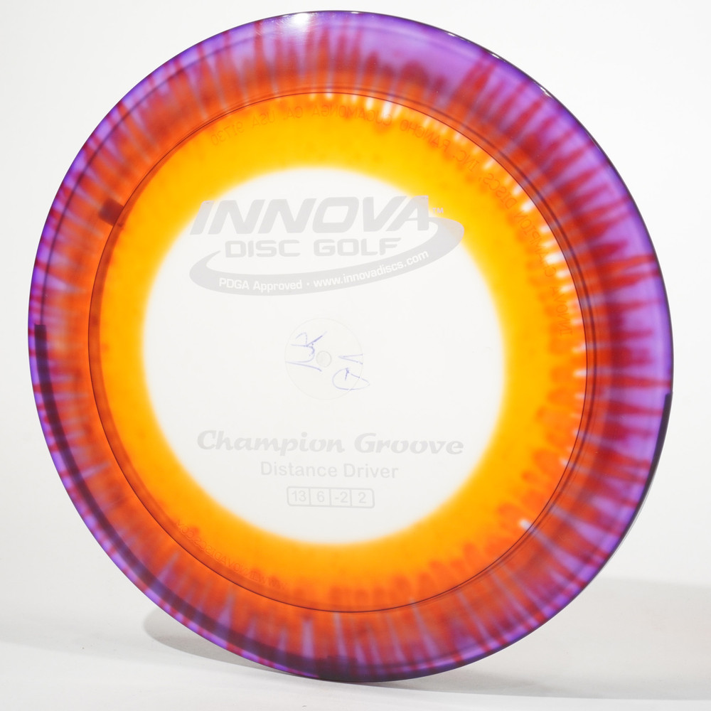 Innova Groove (I-Dyed Champion) *pick one* C Top view
