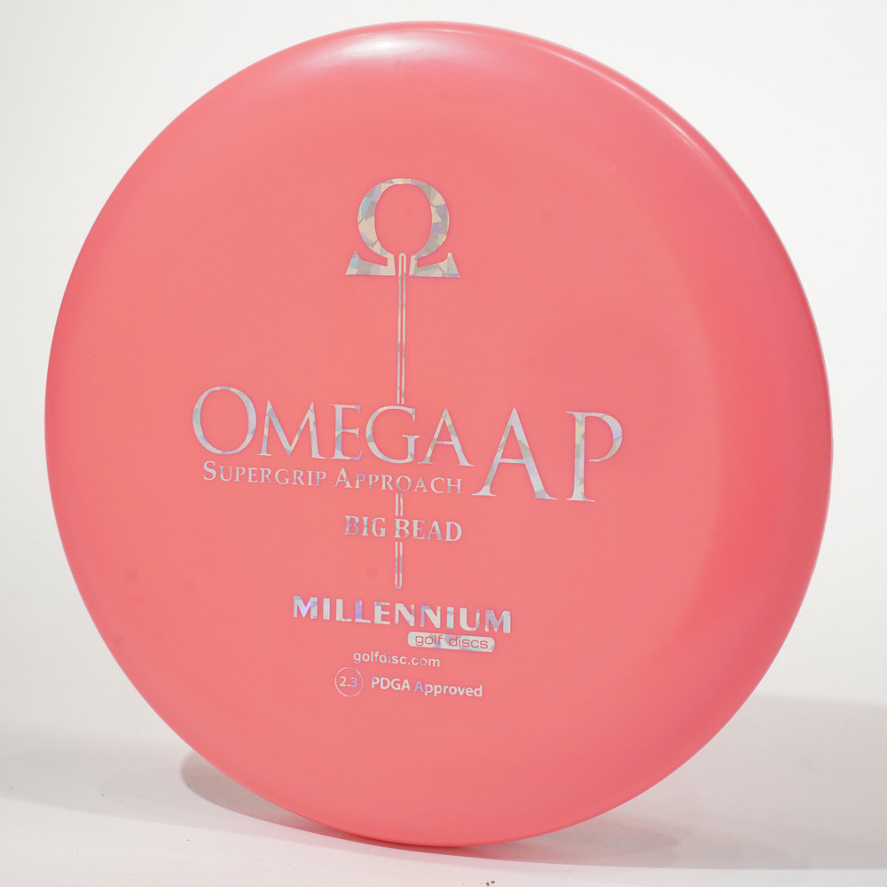 Millennium Omega Big Bead (Standard AP) Pink Top View