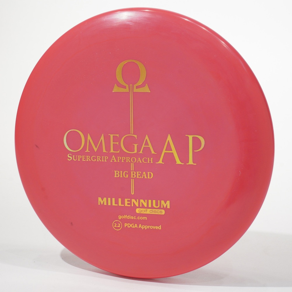 Millennium Omega Big Bead (Standard AP) Red Top View