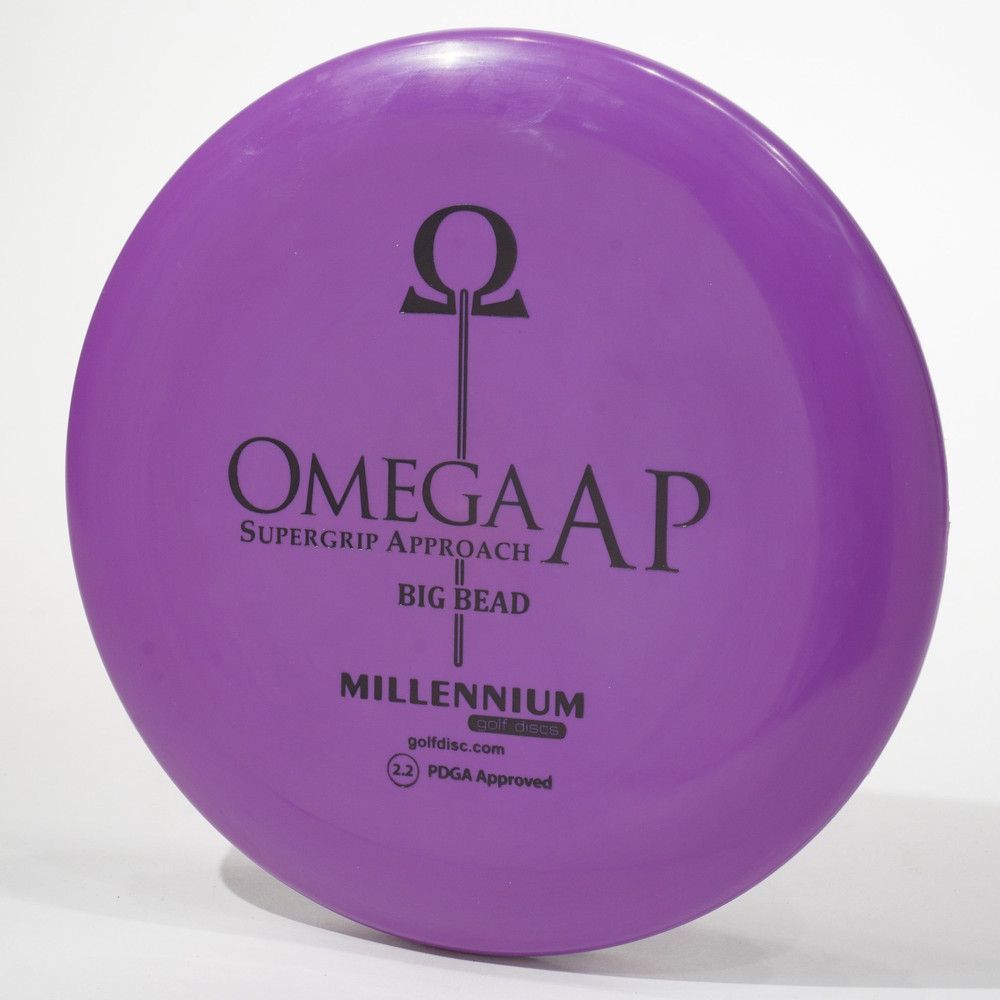Millennium Omega Big Bead (Standard AP) Purple Top View