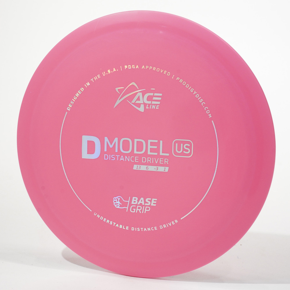 Prodigy Ace Line D Model US (Base Grip) Pink Top View