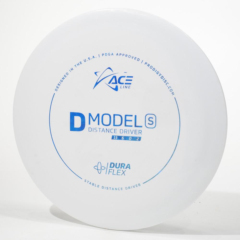 Prodigy Ace Line D Model S (DuraFlex) White Top View