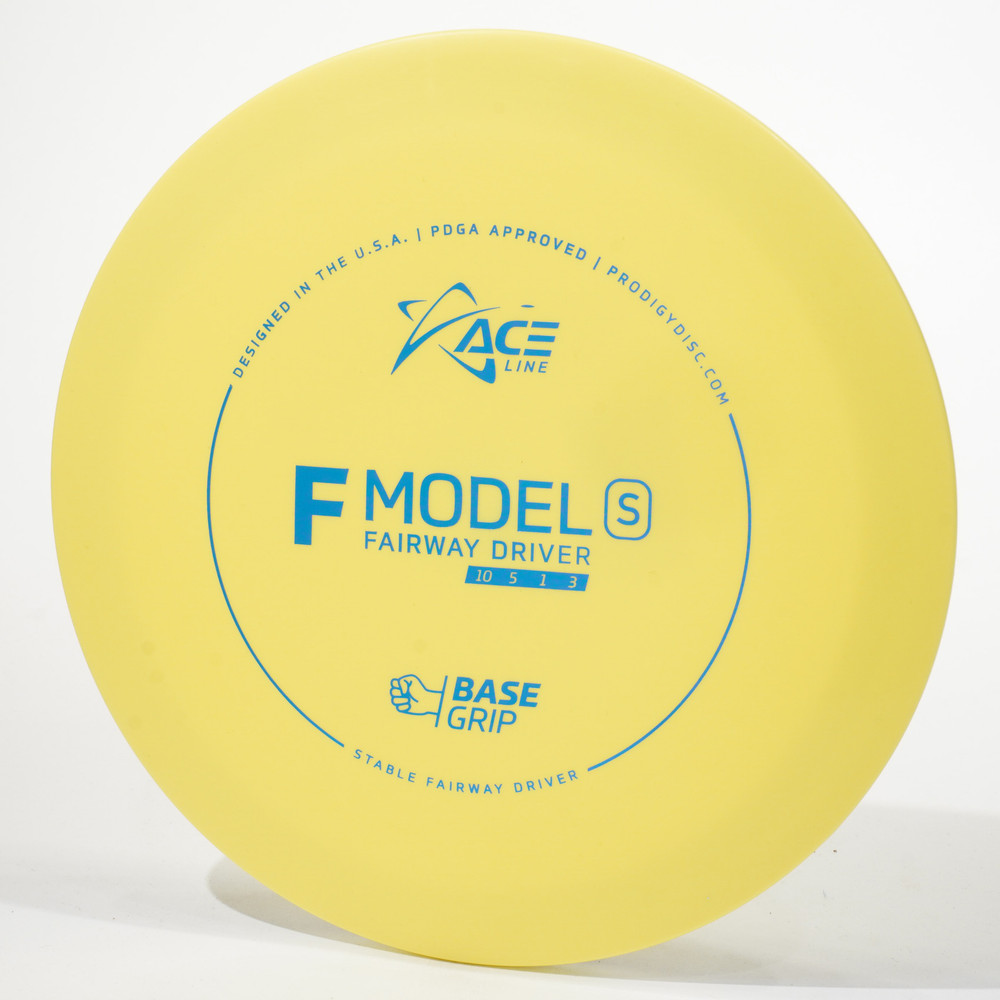 Prodigy Ace Line F Model S (Base Grip) Yellow Top View
