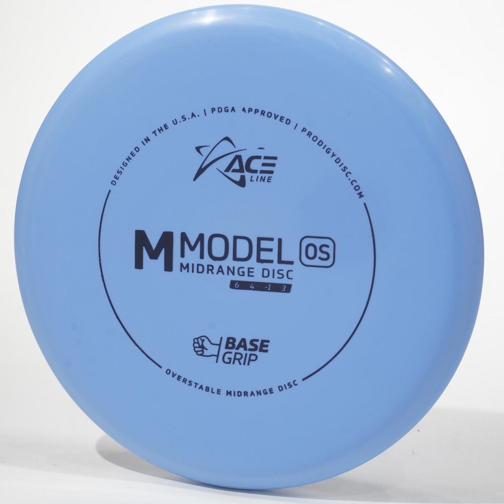 Prodigy Ace Line M Model OS (Base Grip) Blue Top View