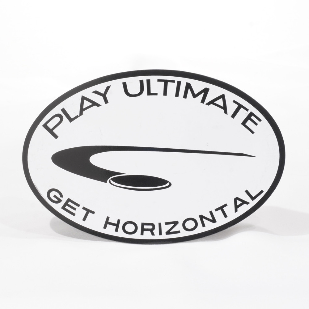 Play Ultimate, Get Horizontal oval magnet