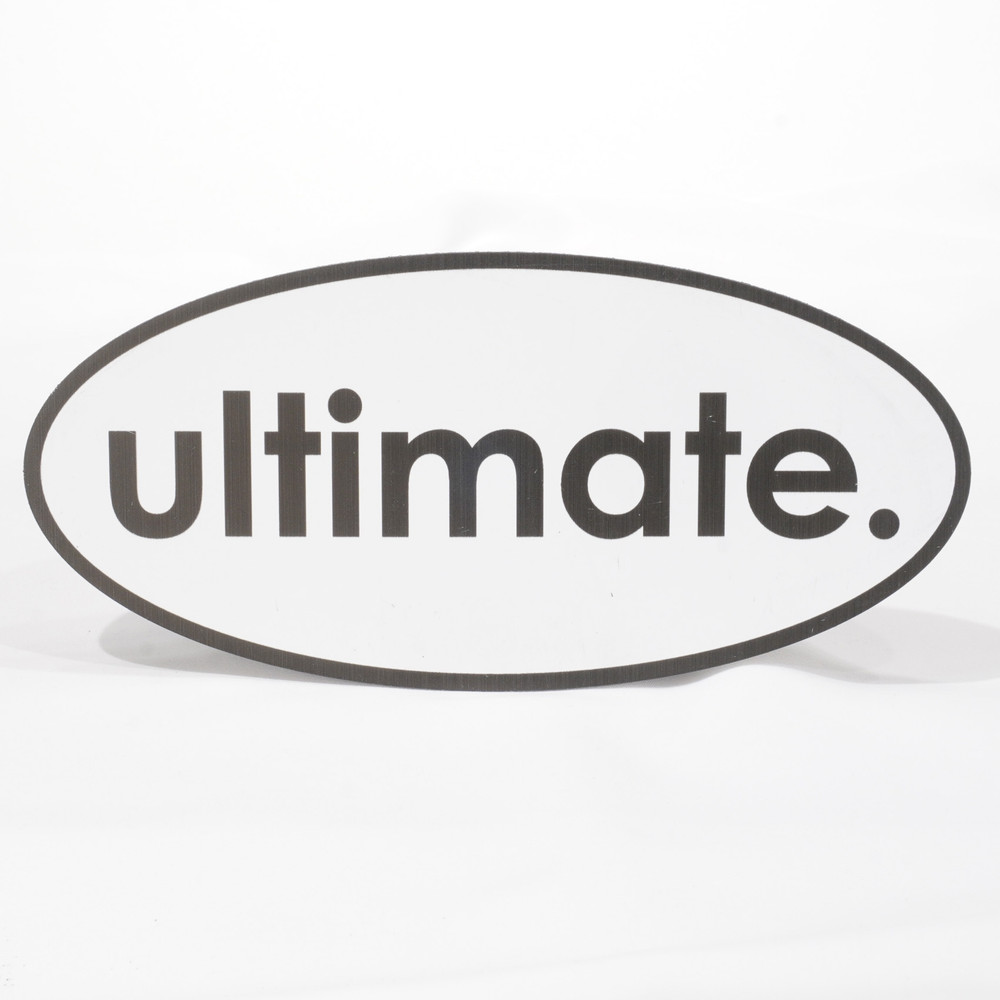 ultimate. oval magnet