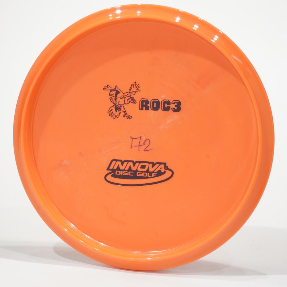 Innova Bottom Stamp Roc3 (Star) Burnt Orange Bottom View