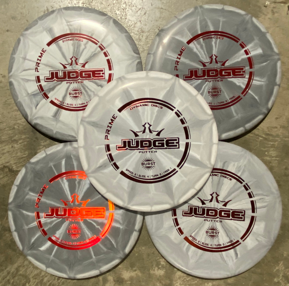 Dynamic Discs Judge (Prime) Gift Set of 5