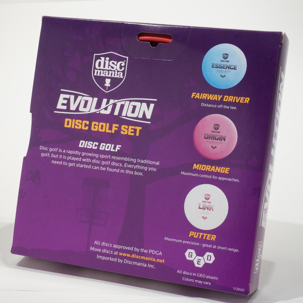 Discmania Evolution GEO Stack Pack - Set of 3