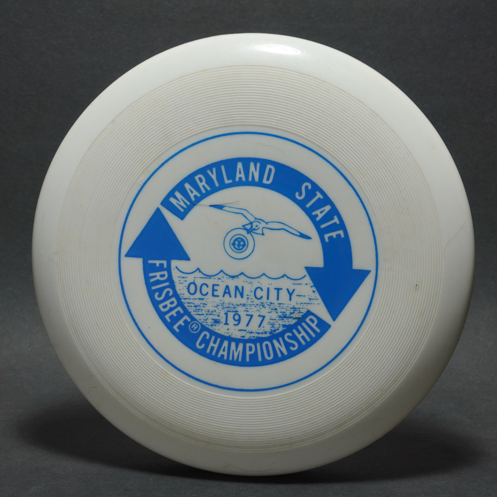 Classic Wham-O 40 Mold Maryland State Frisbee Champs